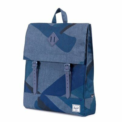 bc8cca73f2 HERSCHEL SUPPLY CO Survey Backpack (green   dark army   coated ...