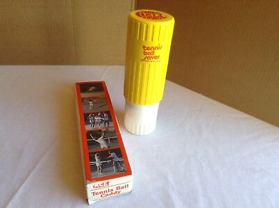 Vintage Gexco Tennis Ball Saver and Ace Tennis Ball Caddy Combo