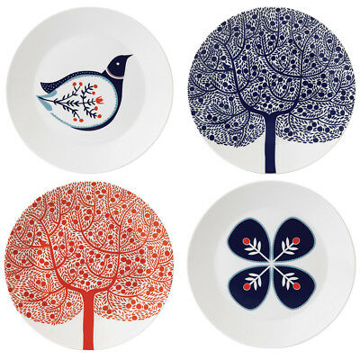 NEW Royal Doulton Fable Accent Plates 22cm Set of 4