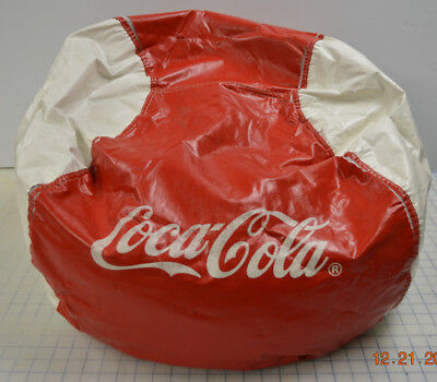 Coca Cola Bean bag chair - Advertisement item Red-White Vintage Coke RARE