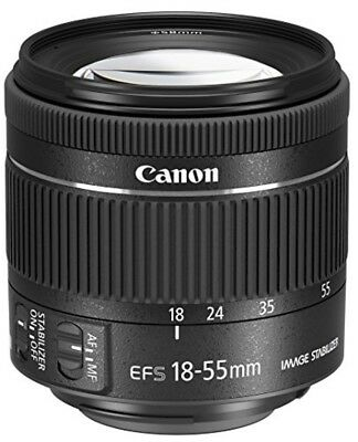 Canon standard zoom lens EF-S18-55 mm F-4.0-5.6 IS STM APS - C compatible