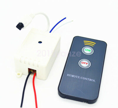 New 12V 1CH Wireless Remote Control Switch Infrared Control Module IR Receiver