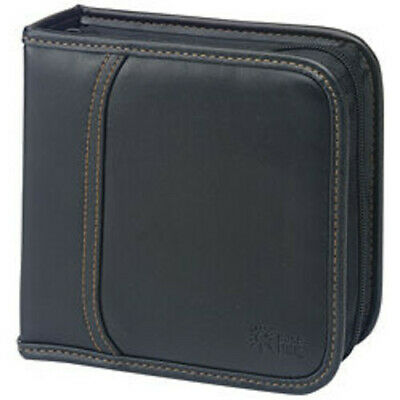 Case Logic KSW-32 Koskin CD Wallet-Holds 32 CD's or 16 w/notes