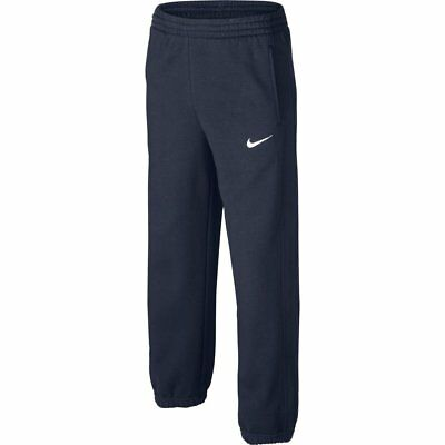 Junior's Nike Fleece Dark Blue Fleece Jogging Bottoms