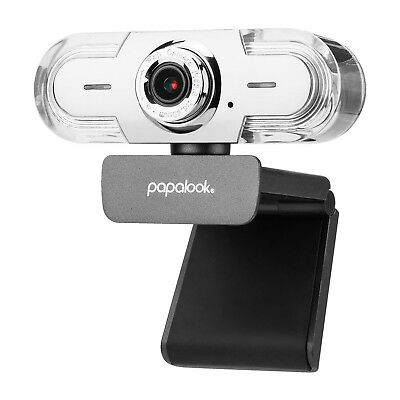 PAPALOOK PA452 HD Pro USB 1080p Webcam with Microphone - Sliver