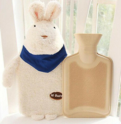 Rubber HOT WATER BOTTLE Bag WARM Relaxing Heat / Cold Therapy