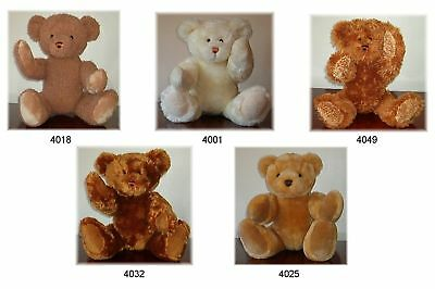 TRADE OFFER 30 NEW TRADITIONAL LINDON JOINTED TEDDY BEARS 16inch / 40cm TALL