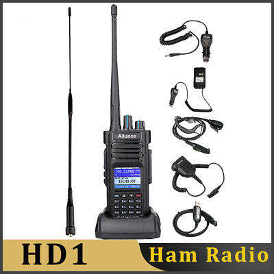 Ailunce HD1 Dual Band DMR Digital Transceivers Walkie Talkies 2way Radio AU Ship