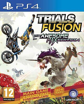 Videogioco Trials Fusion Awesome Max Edition Ps4 Gioco Playstation 4 Italiano