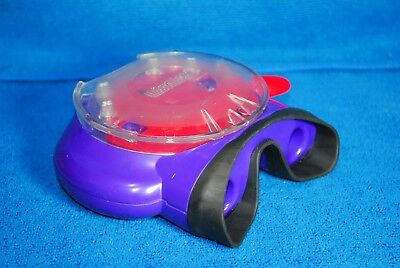 View-Master Model O Binocular Style Viewer - Purple & Red - Excellent Condition