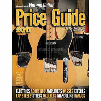 Hal Leonard Hal Leonard - The Official Vintage Guitar Magazine Price Guide 2017
