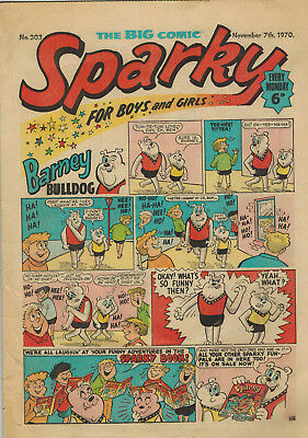 SPARKY COMIC No. 303 from 1970 D. C. Thomson