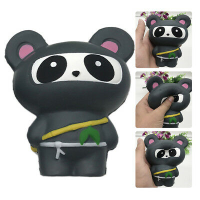 Squishy Squeeze Slow Rising Panda Fox Simulation Ninja Stress Reliever Gift Toy