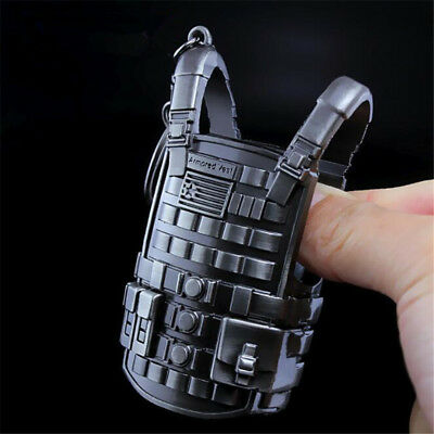PUBG Playerunknown's Battlegrounds Cosplay Props Alloy Level 3 Vest Key Chain