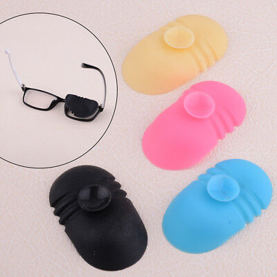Silicone Amblyopia Lazy Eye Patch Strabismus Medical Orthoptic Glasses Occlusion