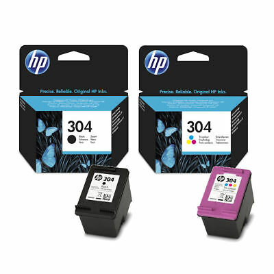 Original HP 304 Black & Colour Ink Cartridge For DeskJet 3735 Inkjet Printer