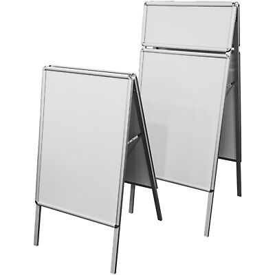 A-Frame A-Board A1 Poster Alu Sign Snap Frame Business Advertisement Display