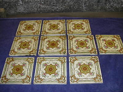 Original Victorian Fireplace Tiles