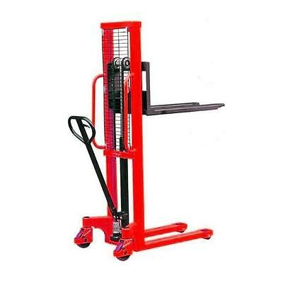 Hand lifting pallet Stacker ST1015 1000KG 1500 LIFT HEIGHT