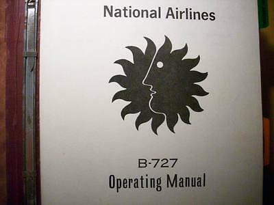 boeing 727 operations manuals from national airlines