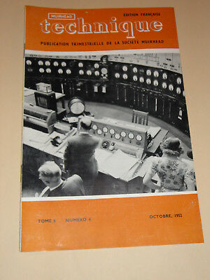 muirhead technique electronic tome 6  n°4 1952