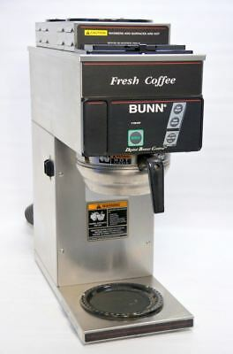 Bunn CDBCP35 12-Cup Digital Automatic Coffee Brewer 240 Pourover Plumbed Machine
