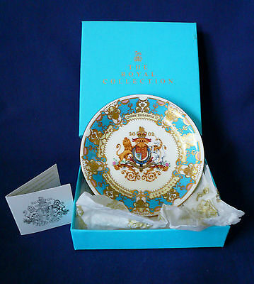 Elizabeth II Golden Jubilee by The Royal Collection Two Handle Dish