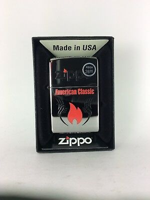 Zippo Windproof Pocket Lighter Authentic USA American Classic Collection Sku:z09