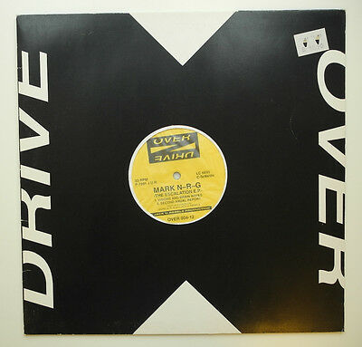 "12"" De**mark N-R-G - The Escalation E.p. (Overdrive '91)***14104"