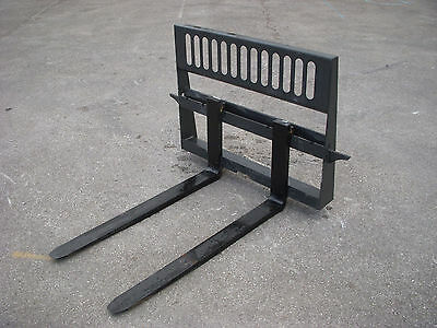 "Bobcat Skid Steer Attachment - New HD 48"" 5,500 Pound Pallet Forks - Ship $149"