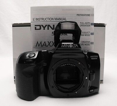 minolta dynax 505si 35mm camera body fully tested ships from rh picclick com Minolta Maxxum 400Si Minolta Maxxum STSI