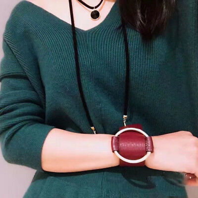 Vintage Leather Wrap Bracelet for Women Casual Charm Cuff Bangle Fashion Jewelry