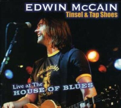 Edwin McCain - Tinsel & Tap Shoes: Live at the House of Blues [New DVD] Bonus CD