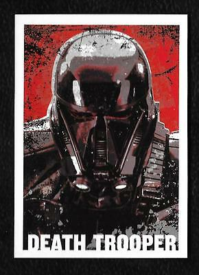 Death Trooper Blue Print Star Wars Rogue One Series 1 Topps 2016 ChaseCard C1746