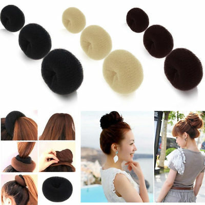 Female Magic Blonde Donut Hair Ring Bun Former Shaper Hair Styler Maker Tool