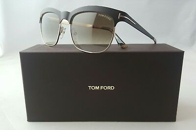 ffde8bf2065 Tom Ford Elena Tf 437 48F Matte Brown Gold Women s Sunglasses Made In Italy