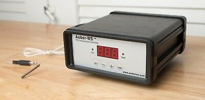 AUBER-WS 1500C PID TEMPERATURE controller for smoker or Sous Vide (Used)