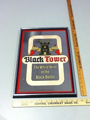 Black Tower bar sign imported winery signs 1 The White Wine in the Black VY4