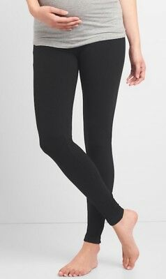 Gap Maternity Pure Body Low-Rise Leggings Size XL- Black- NWT*