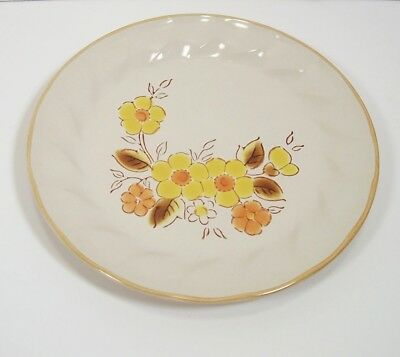 Hearthside Stoneware Sculptura Gaiety Salad Plate Japan Excellent Condition