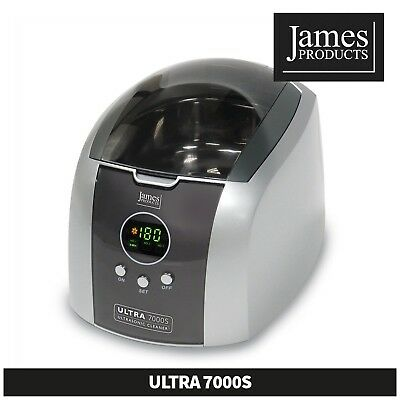 James Products Ultrasonic 7000S Jewellery Spectacle CD/DVD Coins Personal Car...