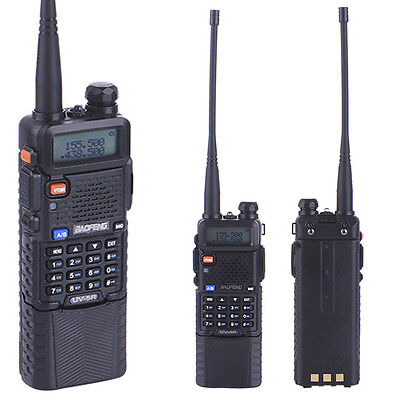 Baofeng UV-5R 3800mAh Walkie Talkie Portable UHF/VHF Dual Band Two-Way Radio YR