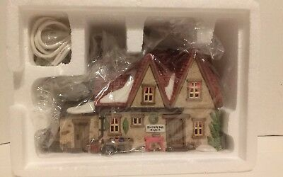 "Dept 56 Dickens' Village Series ""butter Tub Farmhouse  ""  New In Box Never Displ"