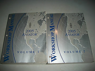 2005 Lincoln Aviator Workshop Manual Set Very Nice Clean Cmystore4More