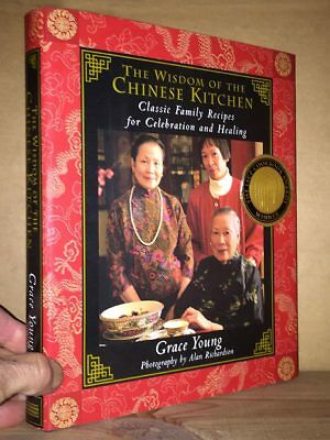 Grace Young The WISDOM OF THE CHINESE KITCHEN 1st/dj Signed by author