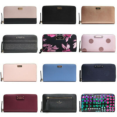 Kate Spade New York Neda Wallet Hummingbird Zip Around New With Tags