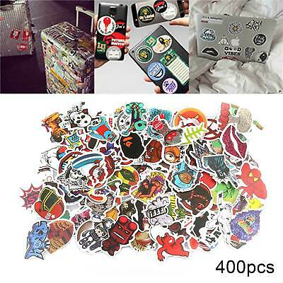 400 x Random Vinyl Decal Graffiti Sticker Bomb Laptop Waterproof Stickers Skate
