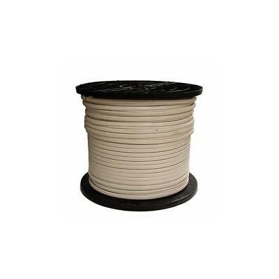 SOUTHWIRE 1000 FT White RG6 18 AWG Coaxial Cable Tv Indoor Outdoor ...