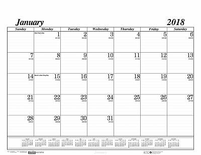 "House of Doolittle 2018 Monthly Desk Pad Calendar Large 22x17"" Office Supply"
