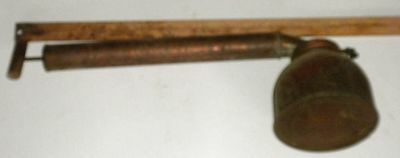 Rustic Copper Hudson Bug Insecticide Sprayer Wood Handle Vintage Antique
